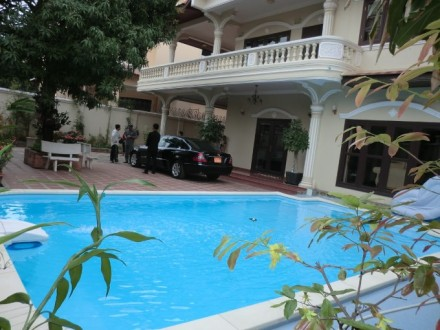 Five Bedrooms KHMER STYLE VILLA Swimming Pool For Rent In Toul Kork, Phnom Penh