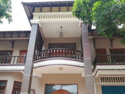 A Beautiful Western Style Villa For Rent In The Western of Boeung Keng KangI (BKKI), Phnom Penh
