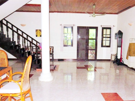 Colonial Style Four Bedrooms Villa For Rent Is Located in Tonle Bassac, Phnom Penh